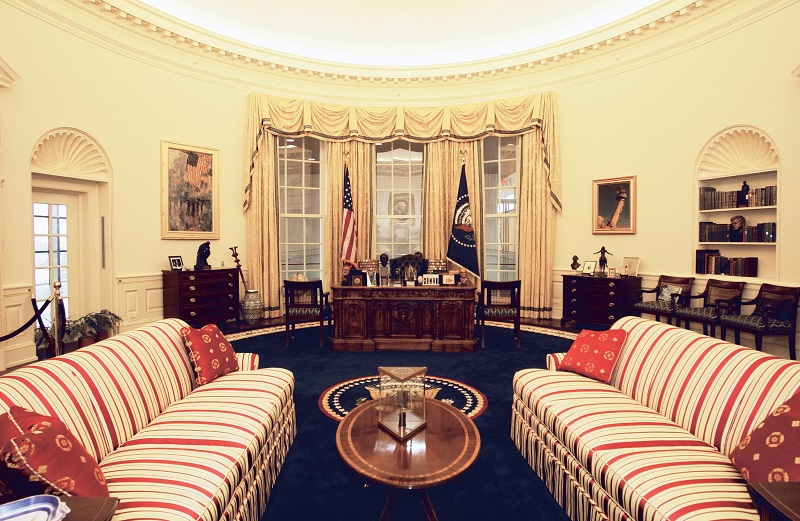 Oval Office at the Clinton Center