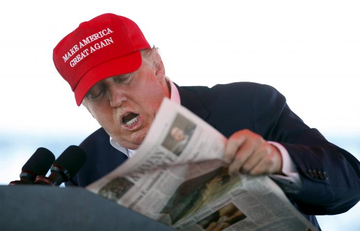 Reading Trump