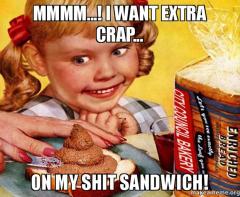 shit sandwich