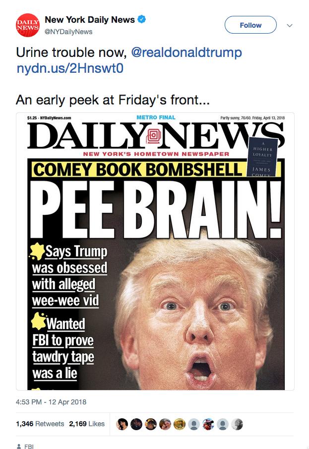 pee brain