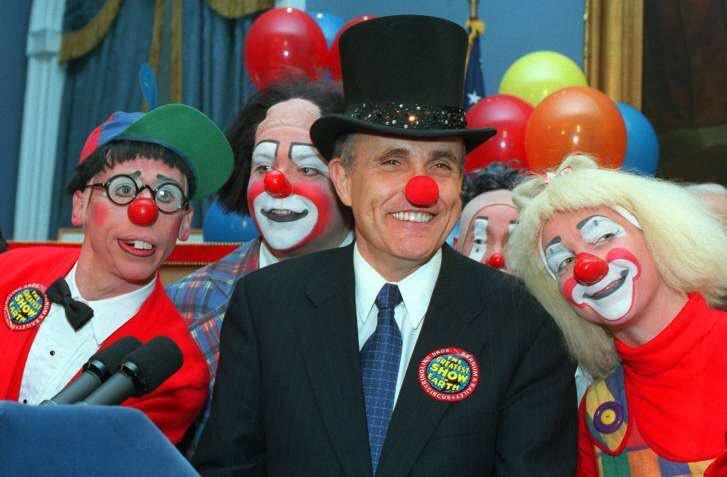 rudy clown