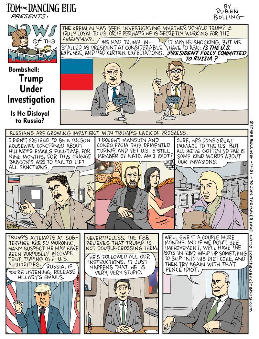 trump russia truth