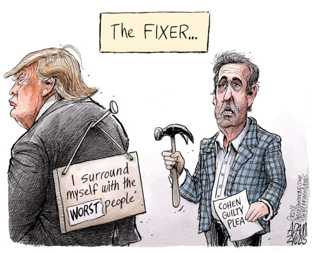 Cohen guilty