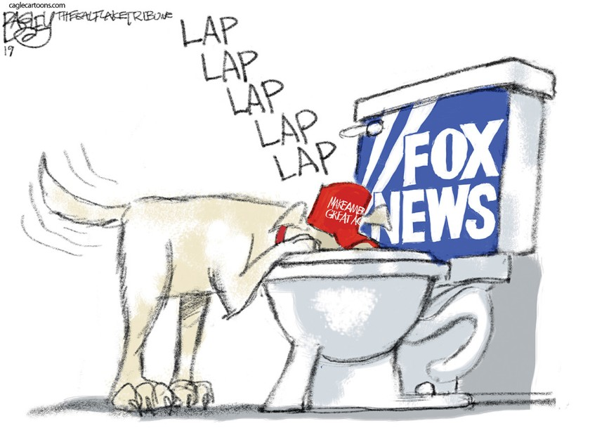 Lapping Fox News
