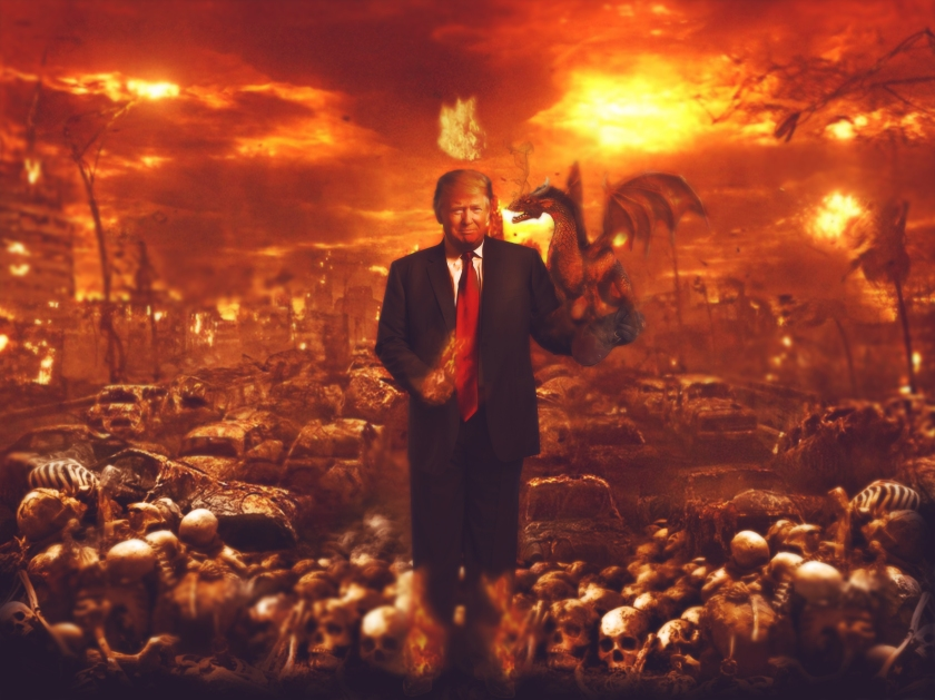 Trump in hell
