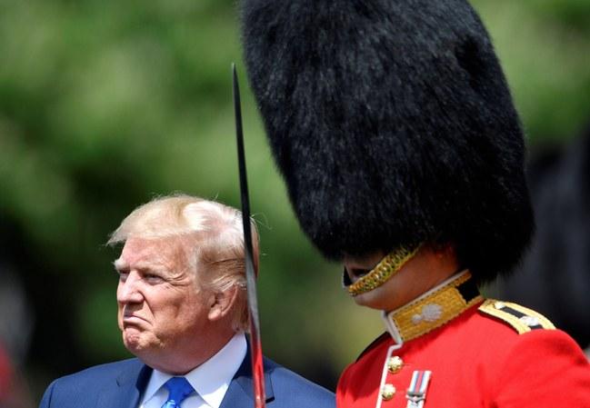 Trump Scowl