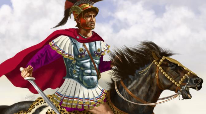 Pyrrhus on Horeseback