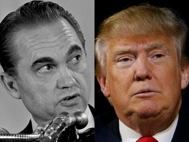 Wallace and Trump