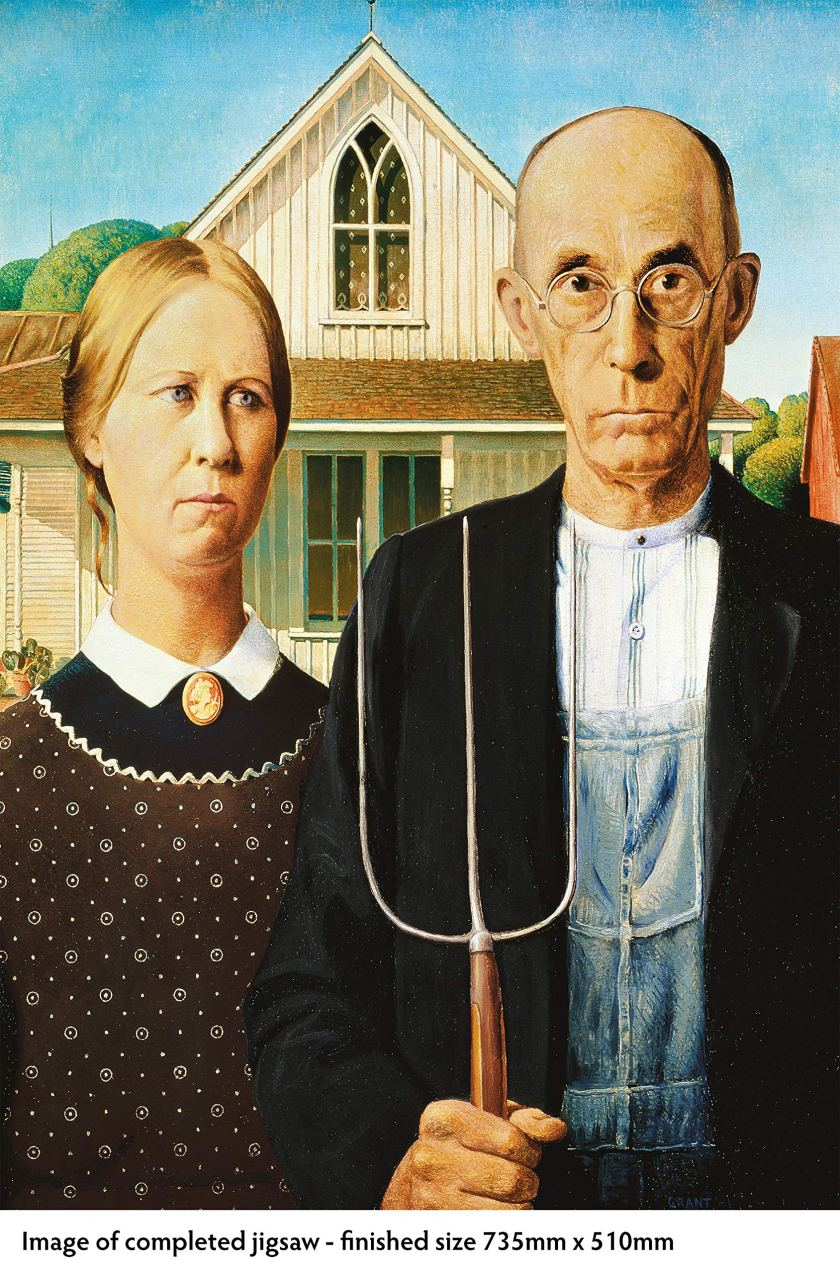 Ameerican Gothic