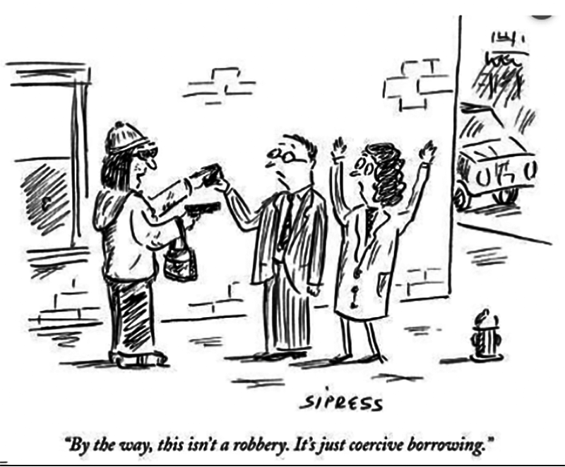 Coercive Borrowing