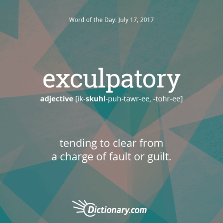 exculpatory