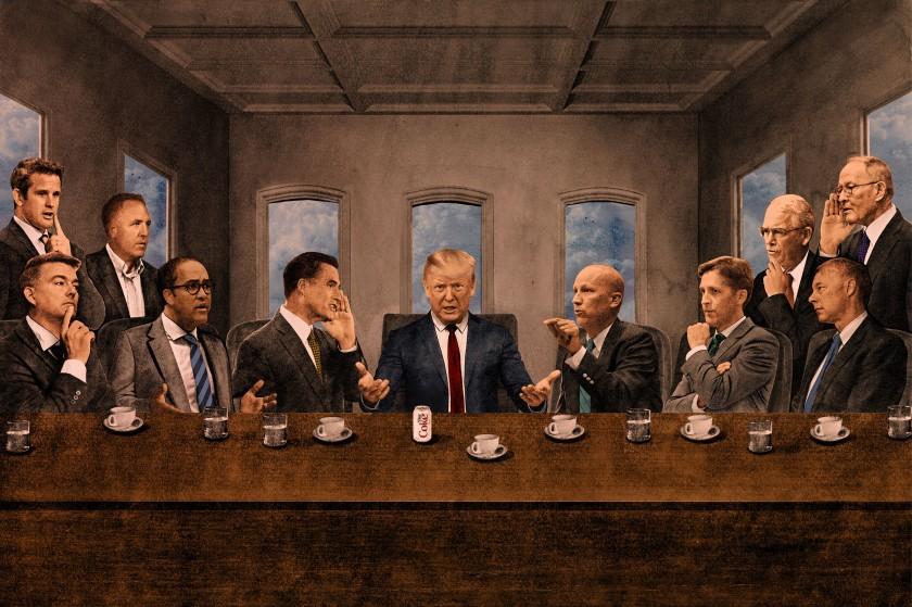 Trump's Last Supper
