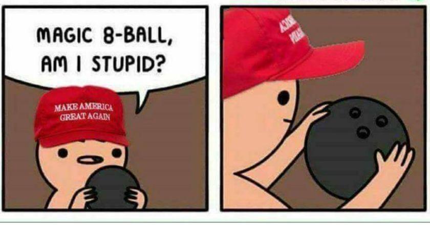 as I stupid