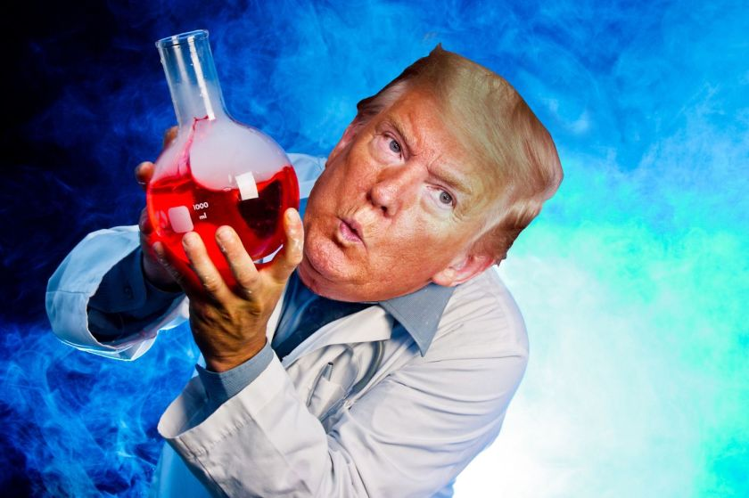 scientist trump