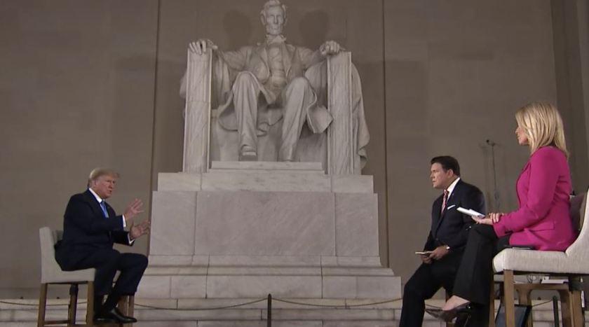 Trump and Lincoln