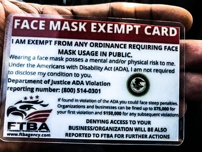 exempt card