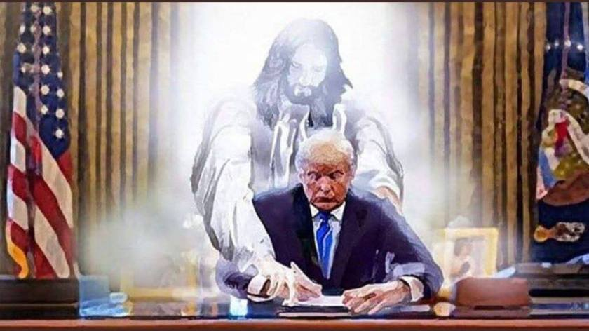 Jesus and Trump
