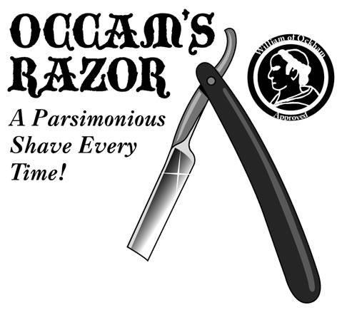 Parsimonious razor