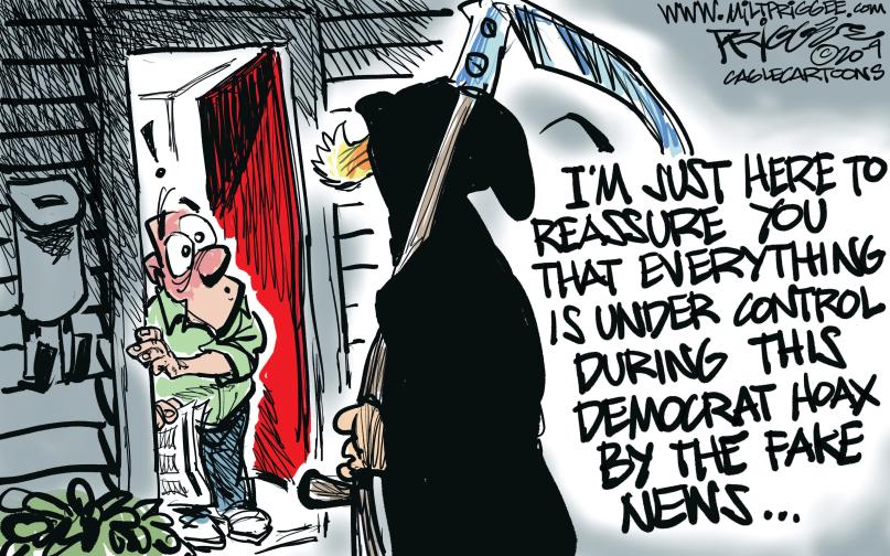 Democraticv Hoax